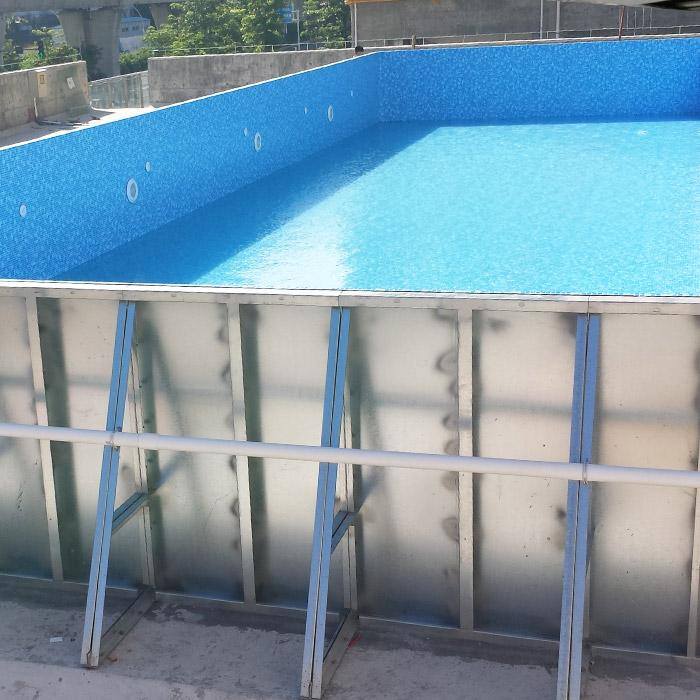 Degaulle Steel Wall Swimming Pool