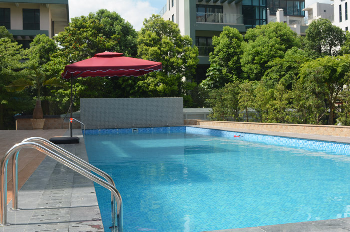 Degaulle Freestanding Steel Swimming Pool