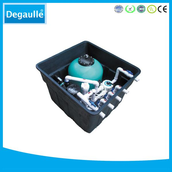 Degaulle FX18 swimming pool equipment underground filter with sand filter