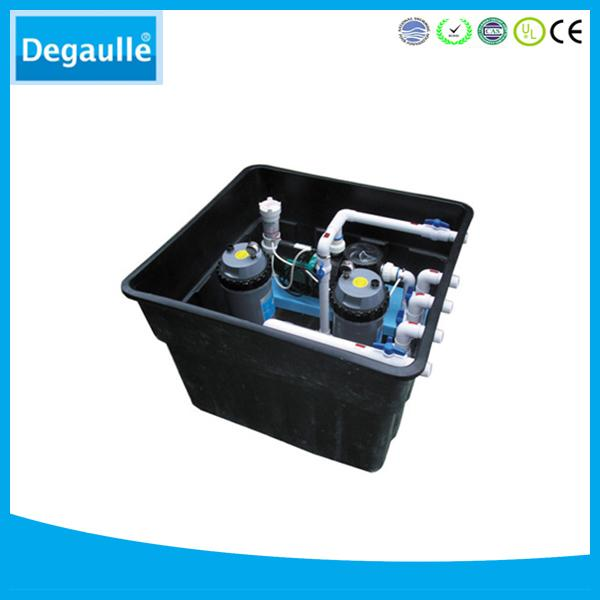 Degaulle FX36 swimming pool equipment underground filter with cartridge filter