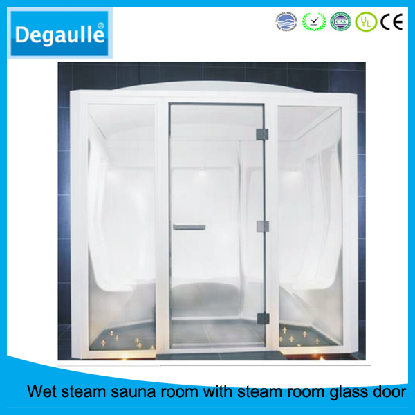 4 persons outdoor sauna and steam combined room