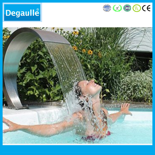 Degaulle DN-1 Stainless Steel Swimming Pool Fountain