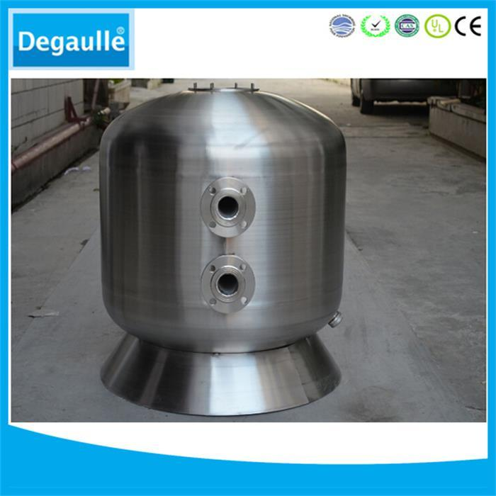 side mount swimming pool filter equipment stainless steel emaux pool filter