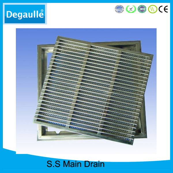 Swimming Pool Product Supplier Stainless Steel Main Drain Cover